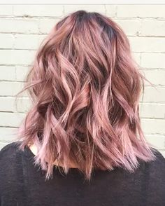 Rose Gold Hair Colour Inspiration | POPSUGAR Beauty UK