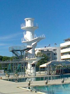 Trampolini olimpionici. Stadio del nuoto