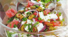 I know that the summer is over for some but I could not resist giving you the recipe for this delicious and refreshing summer salad with watermelon and feta cheese, all ingredients and components of the Mediterranean cuisine. Feta cheese is a basic component of the Mediterranean diet, so is watermelon the nutritional benefits of…