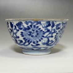 Antique Chinese Blue and White Porcelain bowl #1982 - ChanoYu online shop