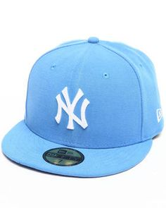 New Era   New York Yankees League Basic 5950 Fitted Hat. Get it at DrJays.com