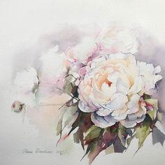 Художник: @olena.duchene  #акварель #aquarelle #painting #drawing #art…