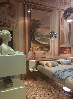 """Classical interior Life (or """"Lago"""" interior Life?)  #interior #pastel #color #milan #design #classic"""