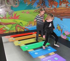Active 8 - this is in the playground. Lots of fun for all ages, even parents and grandparents have fun. Interactive floor.