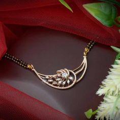 Diamond Mangalsutra, Gold Mangalsutra Designs, Women's Jewelry Sets, Fancy Jewellery, Gold Jewelry Simple, Blouse Desings, Goan Recipes, Jewelry Design, Gw