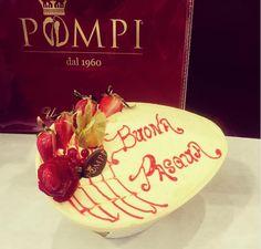 #HappyEaster #whitechocolate #egg #strawberry #tiramisù #pompi