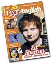 I Love English Juin n°252 : Ed Sheeran - The lion whisperer - Snapchat - BD Boulard in english - Andy Murray, Britain's star tennis man