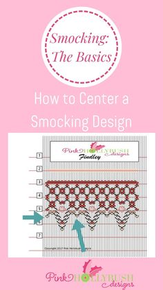 Smocking Tutorial, Smocking Plates, Sewing Lessons, Heirloom Sewing, Blog Sites, Sewing Notions, Smock Dress, Baby Food Recipes, Free Pattern