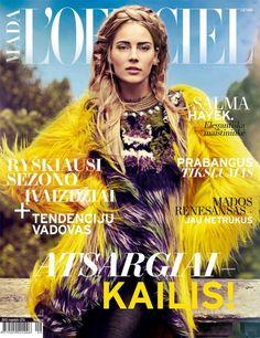 L'Officiel featuring Ieva Laguna. #magazines