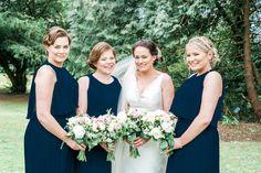 Real wedding at Faithlegg House Hotel, Waterford Bride and Bridesmaids Brides And Bridesmaids, Real Weddings, Bridal, Couples, Party, Photography, House, Photograph, Home