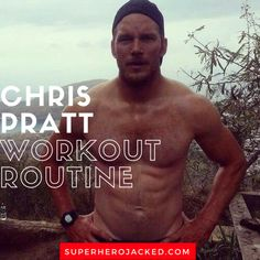 Chris Pratt Workout Routine and Diet Plan [Updated]: Train like Star-Lord Hero Workouts, Workout Days, Workout Challenge, Gym Workouts, Workout Routines, Workout Men, Cable Workout, Men Exercise, Dumbbell Workout