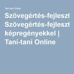 Szövegértés-fejlesztés képregényekkel | Taní-tani Online Teaching, Education, School, Learning, Educational Illustrations, Teaching Manners, Studying