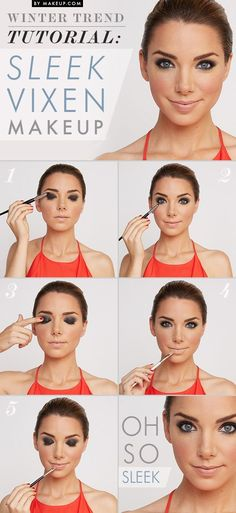 Metallic Smokey Eyes for Party Eye Makeup