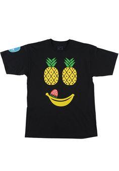 NEFF Fruit Face S/S T-Shirt black #planetsports