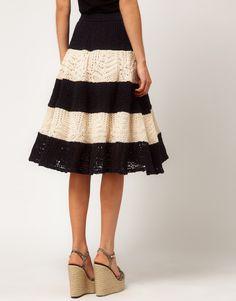 crochet skirt                                                                                                                                                      More