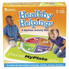 Healthy Helpings My Plate Activity Mat