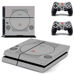 Retro PS1 For PS4 Protective Vinyl Skin 2 Controllers