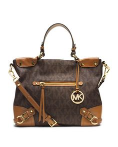 76cddd04f435 MICHAEL Michael Kors Medium Fallon Satchel. Cheap Michael Kors Purses