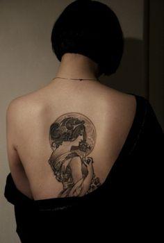 art nouveau tattoo | Tumblr