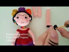 Amigurumi Frida Kahlo : Frida kahlo amigurumi muñeca cuadrada en mercado libre