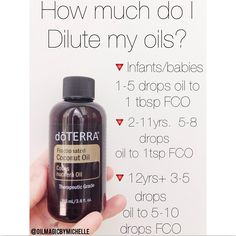 I have had several of you ask and wonder how much you need to be diluting and for what ages?? Well I made you all a quick reference chart! Obviously it is a good thing to have your own modern essentials book, but sometimes it gets confusing on how much an oil needs to be diluted! Like I have mentioned in previous posts, diluting doesn't take away from the effectiveness of the essential oil, it simply makes the oils being applied less sensitive on the skin. There are some oils that don't need…