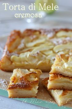 Pie Co, Eat Smart, Pie Dessert, Sweet Cakes, Cooking Time, Just Desserts, Finger Foods, Food Inspiration, Italian Recipes