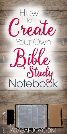 How to Create Your Own Bible Study Notebook - Arabah Creating your own Bible study notebook is a great way to help keep your quiet time organized and effective. Learn how to create your own Bible study notebook. Bible Study Notebook, Bible Study Guide, Bible Study Journal, Scripture Study, Prayer Journals, Bible Study On Prayer, Family Bible Study, Scripture Memorization, Kids Bible