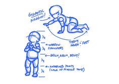 Drawing tutorials - baby