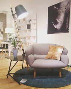Fotel Fusion, Lampa Outrigger Tworzą Idealny Duet. Zapraszamy Na Zakupy!  Fusion Armchair Design