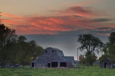 Barns of South Dakota