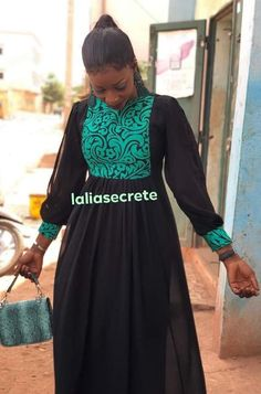 Modest Dresses, Stylish Dresses, Nice Dresses, Abaya Fashion, Fashion Wear, 14th Century Clothing, African Wear Dresses, Hijab Chic, African Lace