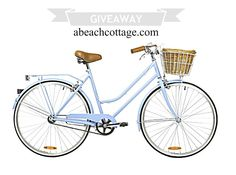 A Beach Cottage Vintage Bike Giveaway! Its new but it looks vintage