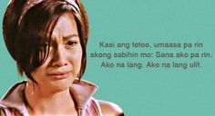 10 Hugot Lines from Pinoy Movies Filipino Quotes, Filipino Words, Pinoy Quotes, Filipino Funny, Hugot Lines Tagalog Funny, Tagalog Quotes Hugot Funny, Hugot Quotes, Pinoy Movies, Tagalog Love Quotes