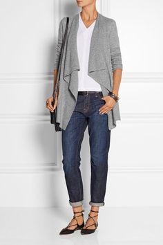 Current/Elliott | The Fling mid-rise slim boyfriend jeans | NET-A-PORTER.COM