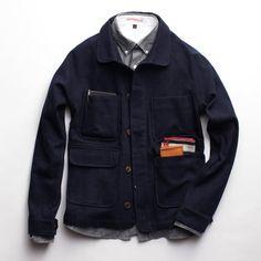 Apolis Wool Chore Coat