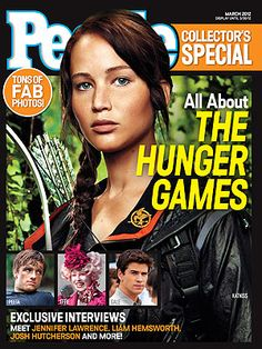 People Magazine releases special edition for Hunger Games - click through for a coupon.