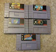 5 Super Nintendo Games SNES Mario World Pinball Wario's Woods Pacman Invaders: $50.00 (0 Bids) End Date: Saturday Apr-21-2018 16:37:48 PDT…