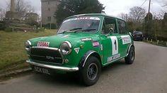 Classic Innocenti Mini Cooper 1300 Export.