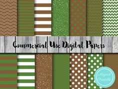 Camo Digital Paper Military Woodland Instant by MagicalStudio
