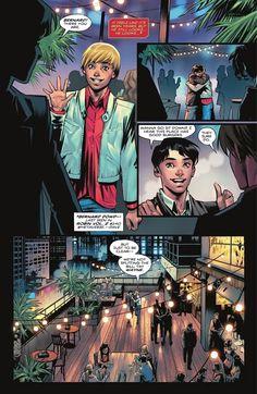 Batman Comic Art, Batman Comics, Dc Comics, Urban Legends Stories, Legend Stories, Tim Drake Red Robin, Comic Book Publishers, Wally West, Comic Book Panels
