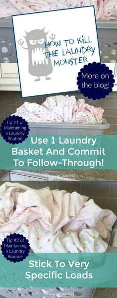 How to Kill the Laundry Monster and More Laundry Tips to Maintain