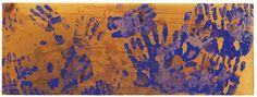 Yves Klein, Untitled Color Fire Painting (c. 1960) @LearnArtHistory
