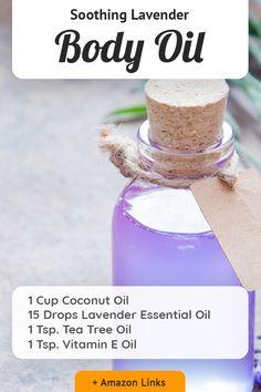 Homemade Skin Care, Diy Skin Care, Homemade Beauty, Essential Oil Blends, Essential Oils, Natural Beauty Recipes, Diy Body Scrub, Oils For Skin, Body Care