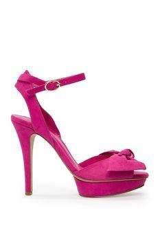 Sandaal met strik