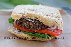 One of the most delicious homemade veg burger recipes out there. This Veggie…
