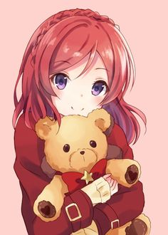 Maki looks so kawaii in this pic!! | Love Live! School Idol Project