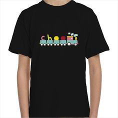 Camiseta infantil tren choo choo