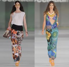 Desigual 2014 Spring Summer Womens Runway Collection - 080 Barcelona Fashion Week: Designer Denim Jeans Fashion: Season Collections, Runways...