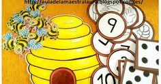 La primavera sigue ofreciendo nuevas ideas para más material ABN: Abejas en la colmena.        Con ayuda de las abejas podemos trabajar la a...