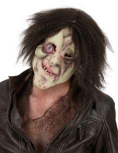 Masque bossu avec cheveux adulte Halloween : Ce masque de personnage bossu pour…